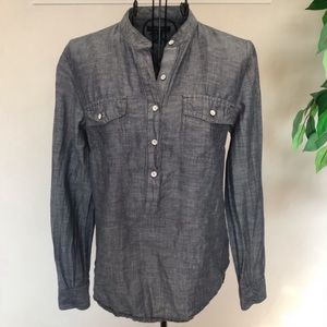 Tommy Hilfiger Long Sleeve Popover Shirt Size XS